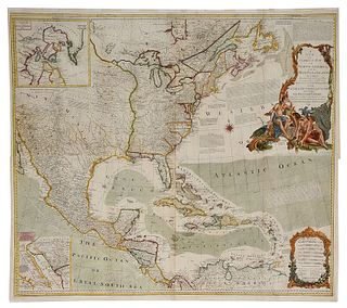 Sayer & Bennett - Map of North America, 1779
