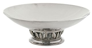 Dessin Sterling Footed Low Bowl