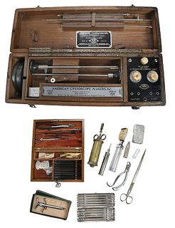 J.H. Gemrig Surgeon's Kit, Assorted Medical Tools