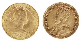 Two Foreign Gold Coins