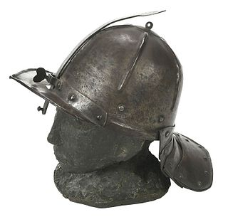 Lobster Tailed Pot Helmet