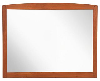 Stickley Arts and Crafts Style Cherry Mirror