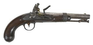 Johnson US Model 1836 Flintlock Pistol