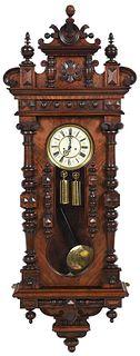 Gustav Becker P64 Vienna Wall Regulator Clock