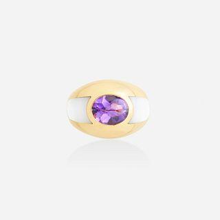 Mauboussin, 'Aloha' amethyst ring