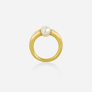 Cartier, Cultured pearl ring