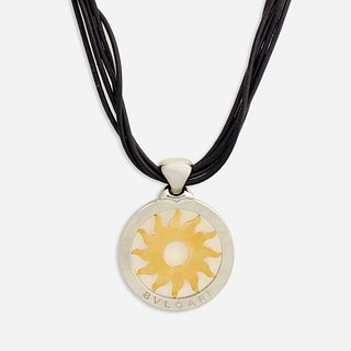 Bulgari, 'Tondo Sun' necklace