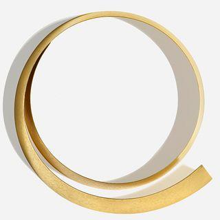 Ulla & Martin Kaufmann, 'Kragen' gold band necklace