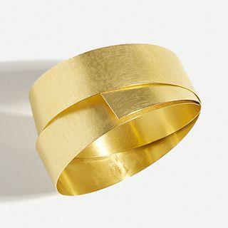 Ulla & Martin Kaufmann, 'Thin Mirror' gold bracelet