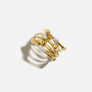 H. Stern, Diamond and gold drop ring