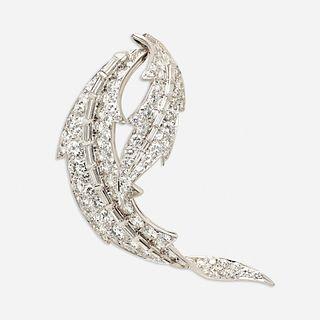 David Webb, Diamond brooch