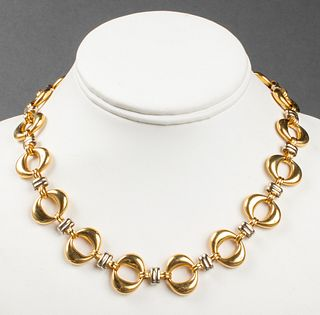 Chiampesan Fabris Italian 18K Gold Necklace