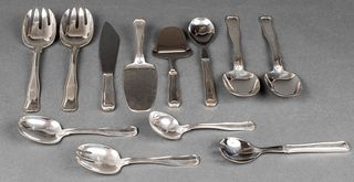 "Georg Jensen ""Old Danish"" Silver Serving Pieces 12"