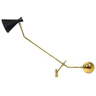 Italian Stilnovo Style Table Lamp Counterweight