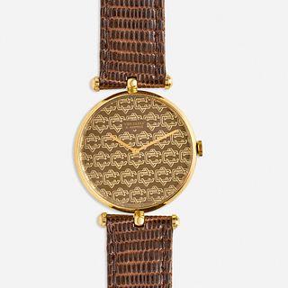 Van Cleef & Arpels, Gold wristwatch