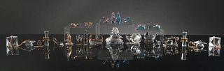 Swarovski 12 Boxed Crystal Assorted Miniature Sets
