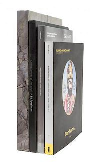 A Group of Five Catalogues and Reference Books Pertaining to Chinese, Japanese, Islamic and Indian Works of Art