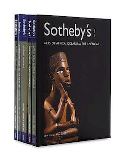 * A Collection of 18 Sotheby's Auction Catalogues