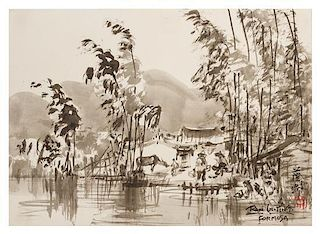 Ran In-Ting, (1903-1979), Formosa
