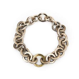 Tiffany & Co. 18kt gold and Sterling Silver Bracelet