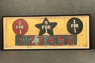 Carnival Game Canvas, c. 1920-1930