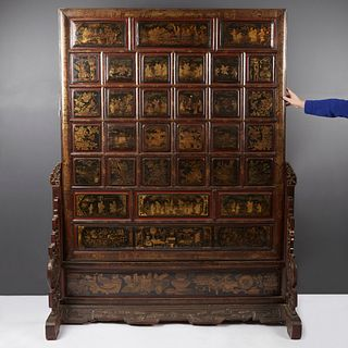 19th Century Chinese Room Divider or Screen