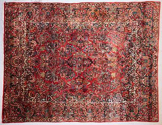 Persian Sarouk Rug Carpet ca. 1930