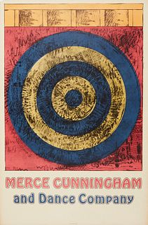 Jasper Johns Target Merce Cunningham and Dance Company