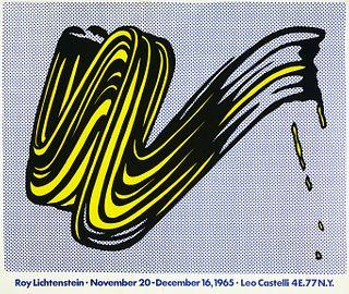 Roy Lichtenstein Exhibition Poster Leo Castelli 1965