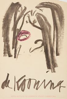 Willem de Kooning Aspen Exhibition Poster 1965