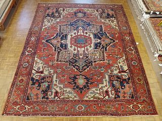 Antique Persian Serapi - Courtesy of Shaia Oriental Rugs