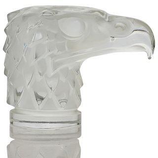 "Lalique Crystal ""Tete D'Aigle"" Eagle"