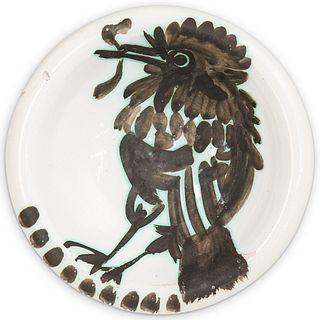 Pablo Picasso (1881-1973) For Madoura Ceramic Dish