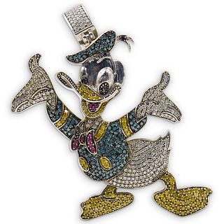 10K Gold Diamond Donald Duck
