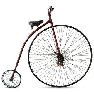 "Antique ""Boneshaker"" Penny Farthing Bicycle"