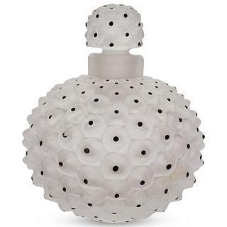 Lalique Crystal Cactus Perfume Bottle