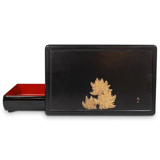Japanese Meiji Lacquer Box