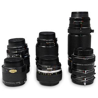 Lot of Six Nikon Nikkor Lenses
