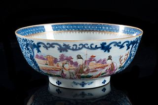 Chinese Export Mandarin Bowl