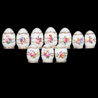 Dresden Hutschenreuther Porcelain Salts and Peppers