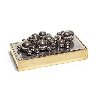 1970s, Magnetic ball sculpture