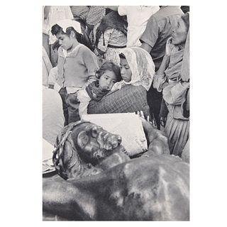 """Henri Cartier Bresson. """"México 1963"""". Fotograbado. Con certificado de autenticidad. Impreso en Suiza ca. 1960"""