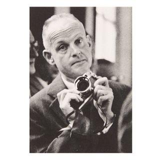 """Carl Heinz Hargesheimer """"Chargesheimer"""" (Alemania, 1924 - 1971) """"Henri Cartier- Bresson"""". Fotograbado. Impreso en Alemania, años 60."""