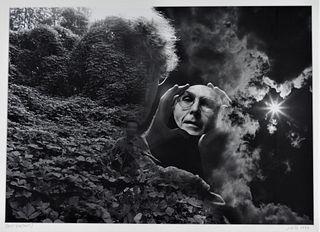 Jerry Uelsmann Surrealist Self Portrait Gelatin