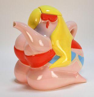 Todd James Teapot Ceramic Case Studyo Sculpture
