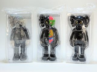 3 KAWS Companion OE Factory Sealed Sculpture Group