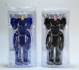 2 KAWS BFF Companion Sealed Vinyl Sculpture Group