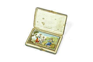 Rare Micro Mosaic plaque
