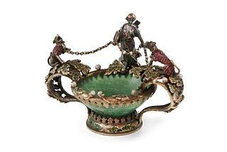 Jeweled Dish - Diana the Huntress