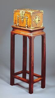 Seventeenth Century Traveling Casket